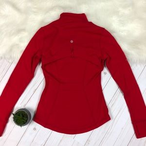 Lululemon Define Jacket Currant Red EUC 4